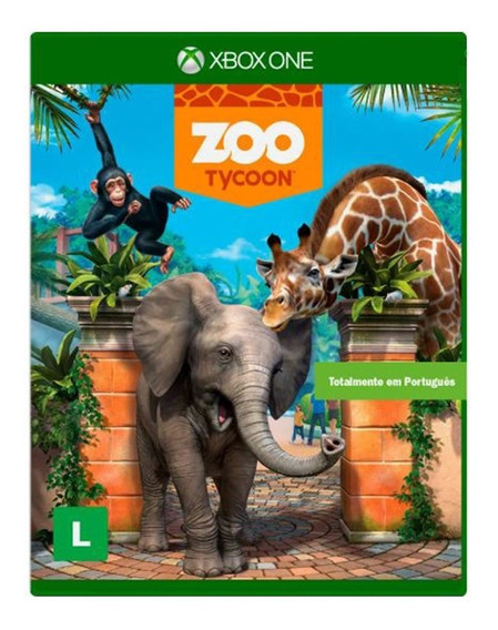Zoo Tycoon - Xbox One - Novo - Mídia Física Lacrado- Dublado