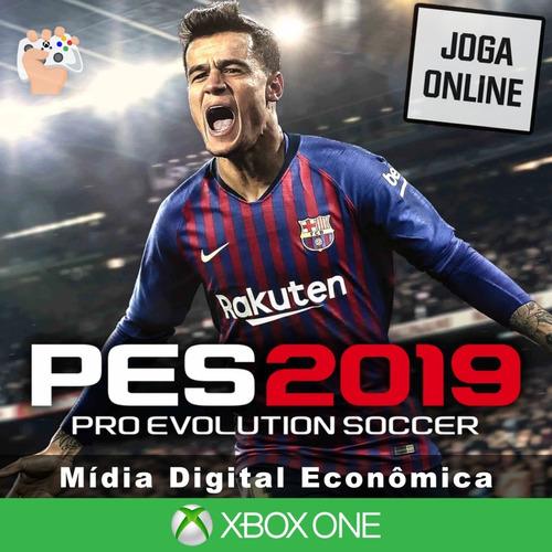 Pro Evolution Soccer 2019- Xbox One - Mídia Digital + Brinde