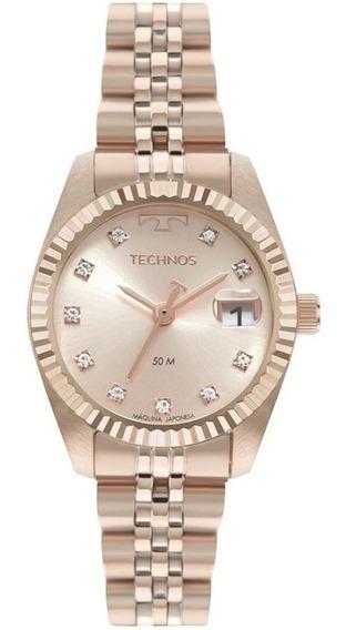Relógio Feminino Analógico Technos Gl10ih/1t - Rosé
