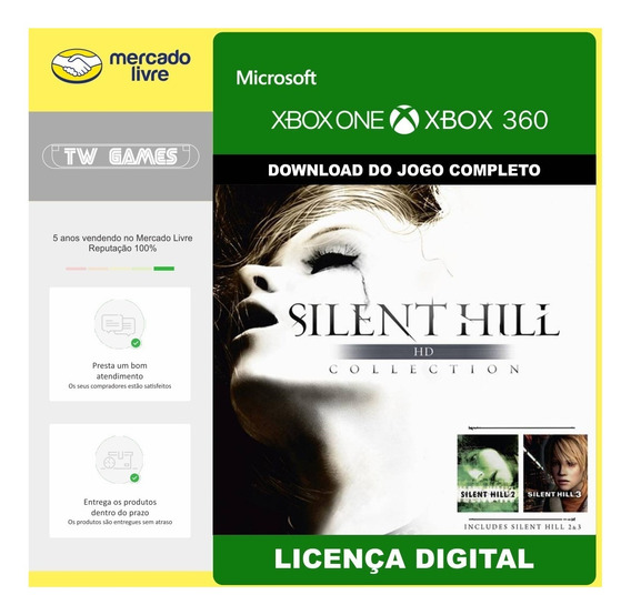 Silent Hill Hd Collection Retrocompativel Xbox One Xbox 360