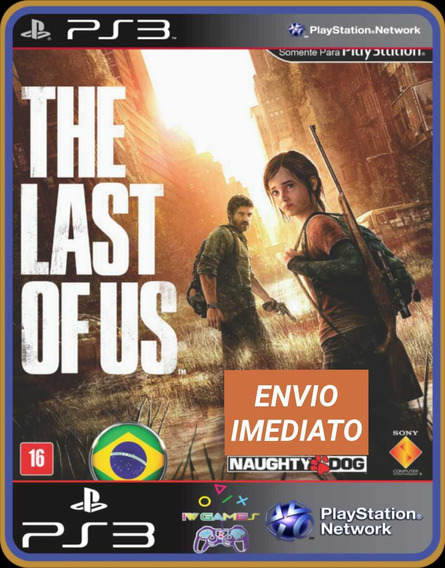 The Last Of Us Ps3 Midia Digital Português Completo