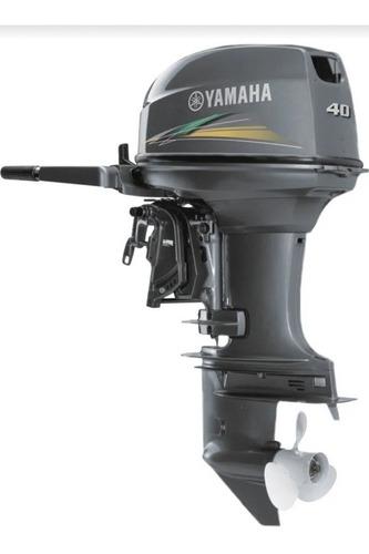 Imagem 1 de 1 de Motor De Popa Yamaha 40 Hp 2021 18 X Sem Entrada Cartao
