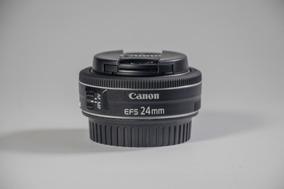 Lente Canon Ef-s 24mm F/2.8 Stm (pankake)
