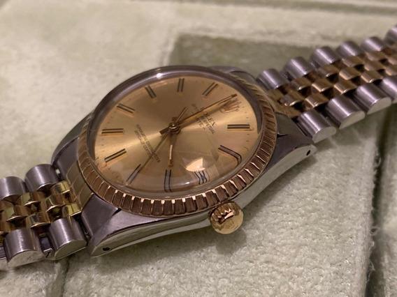 Rolex Date Acero Oro 18k Jubilee Impecable Cambio Rapido Sub