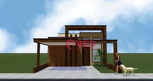 Casa Com 3 Dormitórios À Venda, 118 M² Por R$ 440.000,00 - Horto Florestal - Sorocaba/sp - Ca0356