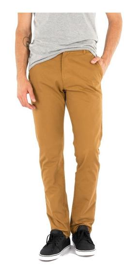 Pantalon Gabardina Hombre Corte Chupin O Semi Recto
