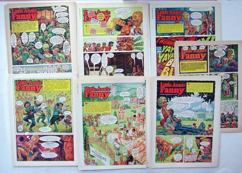 Imagen 1 de 8 de Annie Fanny 7 Comics Playboy Original Set 2