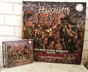 Holocausto Kit Vinil-cd-dvd Ao Vivo. War Metal Death Metal
