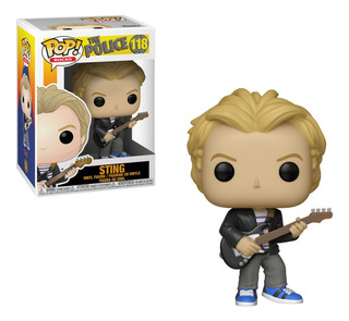 Figura Funko Pop Rocks Kiss The Police - Sting 118