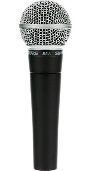 Microfone Com Fio Profissional Shure Sm58