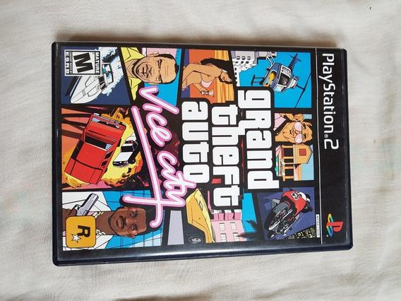 Jogo Gta Vice City Para Ps2 Original E Completo C/ Manual