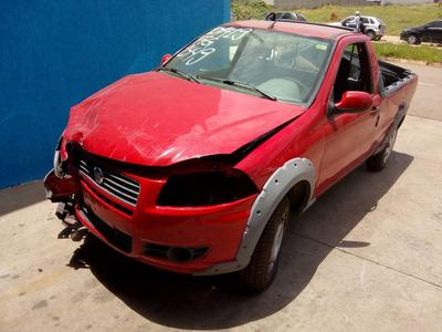 Sucata Strada 2013 1.4 Flex Pra Tirar Peças Motor Porta