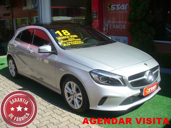 A200 1.6 Turbo Aut. Cinza 2018 Starveiculos