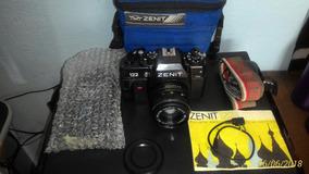 Câmera Fotográfica Profissional Zenit 122 Impecável
