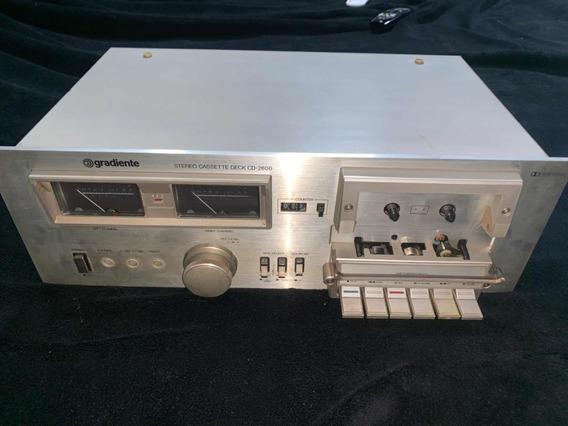 Tape Deck Gradiente Cd 2800