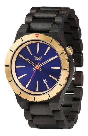 Relógio, Wewood, Asssunt Mb Blue Gold