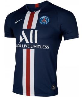 Camisa Psg Paris Azul Nova Nike 2019/20