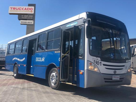 Ônibus Mascarello Gran Midi Escolar 2010=agrale Comil Wb