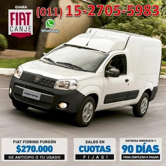 Plan Gobierno Fiat Fiorino 0km Retira Con $90.000 O Usado X-