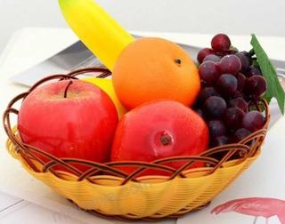 Frutas Decorativas En Tamaño Real X Unidad $&
