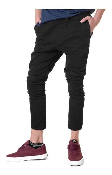 Pantalon Vicus Chino Plain Negro 100%original