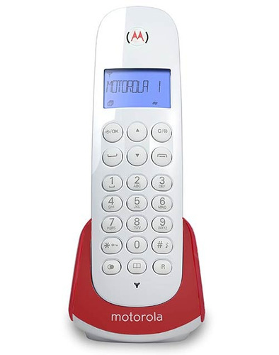 Teléfono Inalámbrico Motorola M700r Ca -rojo