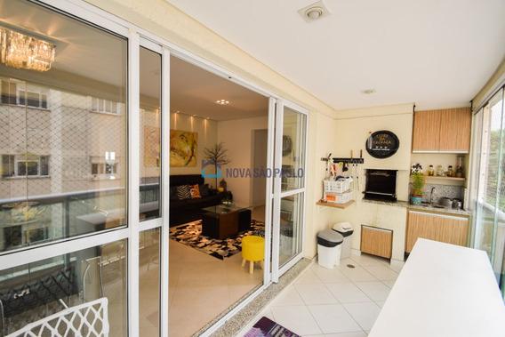 Apartamento Varanda Gourmet, 3 Suítes, 2 Vagas A 350m Da Estação Saúde Do Metrô - Bi23120