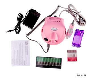 Kit Pulidor Uñas Eléctrico Profesiona Manicure Pedicure W01