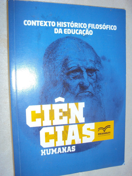 Contexto Histórico-filosófico Da Educação (sebo Amigo)