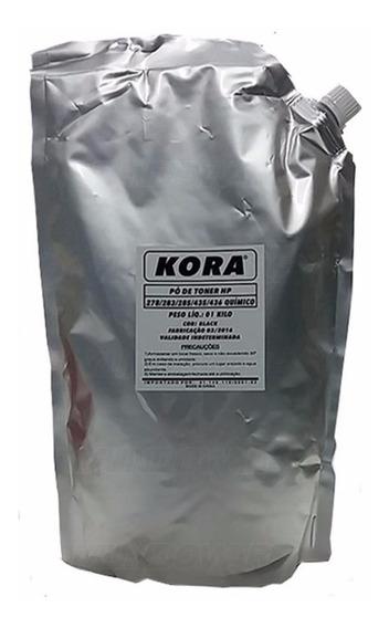 Po Toner Químico Ce278a/285a/cb435a/436a/cf283a 1kg Kora