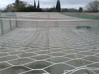 Redes-techo Cancha-2,5 Mm- Arcos- Fabrica - Fútbol