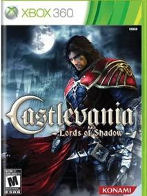 Lacrado Castlevania Mídia Física Xbox 360 Ntsc Usa Br