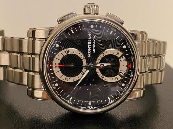 Relógio Montblanc Star Crono 44mm Ref. 7104 Automático.