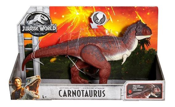 Jurassic World Carnotaurus Dinosaurio Mattel 2018