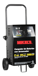 Cargador De Baterias Con Arrancador 200amp 12v Mikels