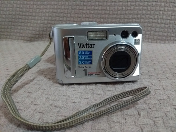 Camera Fotográfica Vivitar 8.0 Vivicam