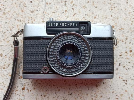 Câmera Fotográfica Olympus Pen Ees-2 - Antiga - Funcionando!