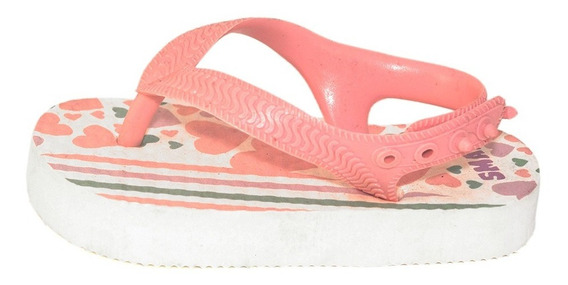 Ojotas Bebe Nena Corazones Small Shoes