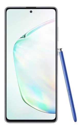 Celular Smartphone Samsung Galaxy Note 10 Lite N770f 128gb Prata - Dual Chip