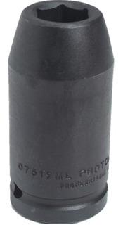 Dado Impacto Largo 19mm 6 Puntos Encastre 1/2 Proto J7319m