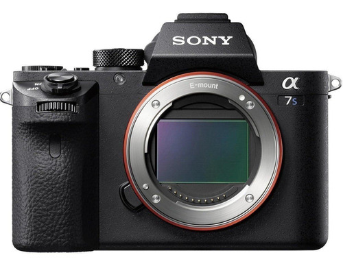 Sony Alpha 7S II mirrorless cor preto