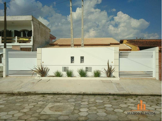 Casa Com 2 Dormitórios À Venda, 80 M² Por R$ 247.000,00 - Jardim Cibratel - Itanhaém/sp - Ca0281
