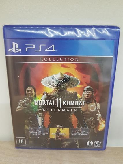 Mortal Kombat 11 Aftermath Kollection Ps4 Lacrado Mid Fisica