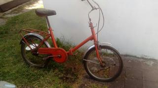 Bici Plegable Rodado 20 Para Restaurar