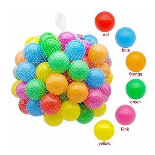 Trendbox 100 Bolas De Colores (6 Colores) Para Bebés,