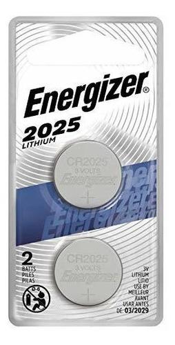 Imagen 1 de 8 de Bateria Energizer Cr2025, Baterias De Celda De Moneda De Lit
