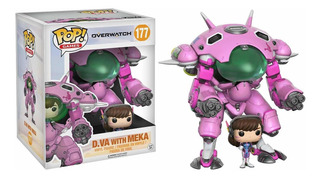 Funko Pop 6 Dva With Meka Overtwatch
