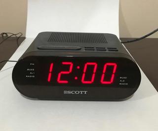 Radio Reloj Despertador Scott Cx5