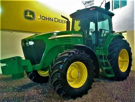 Tractor John Deere 7715 Año 2008