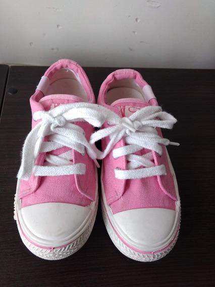 Zapatillas Jaguar Lona Nena N° 32 Infantíl